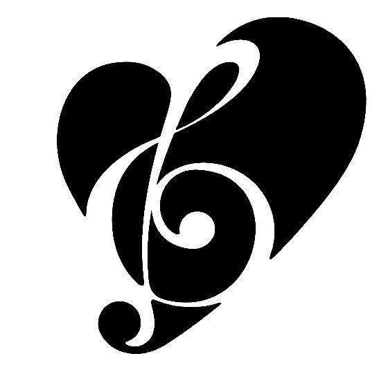 Headphone clipart music heart Music notes clipart Music free