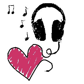 Headphone clipart music heart Headphones Cliparts Clipart Music Zone
