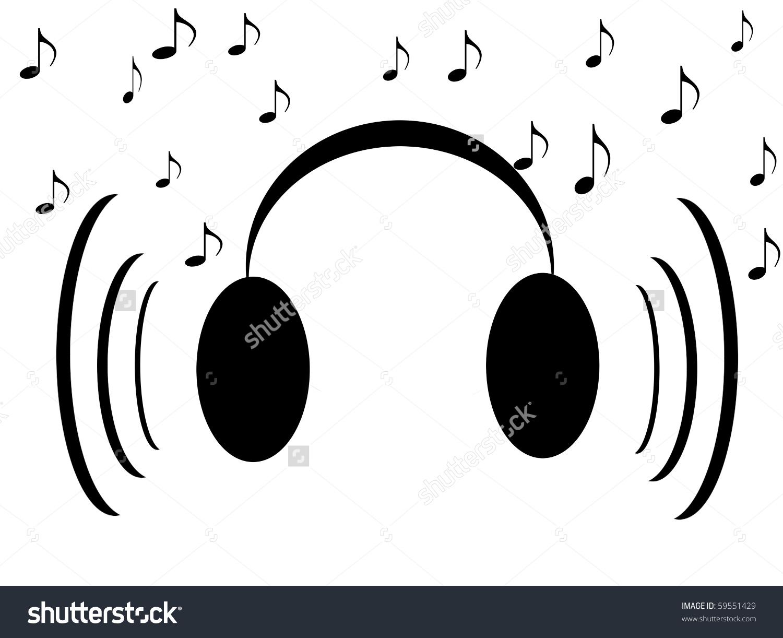 Headphone clipart music note Music Note (76+) headphone note