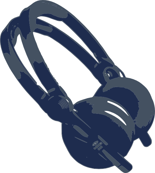 Headphone clipart outline Art as: Headphones Download vector