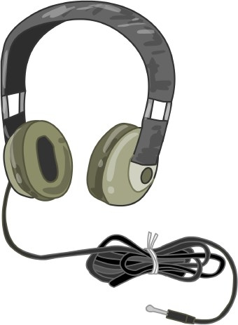 Headphone clipart output device Zone Computer clipart headphone Cliparts