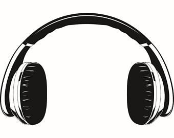 Headphone clipart output device Bluetooth Headphones Music #3 Listening
