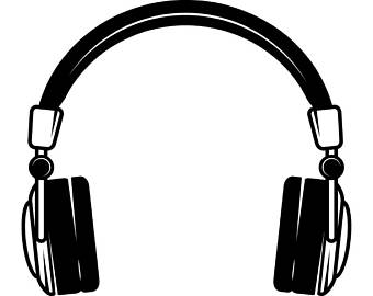 Headphone clipart output device Bluetooth Headphones Music #2 Listening