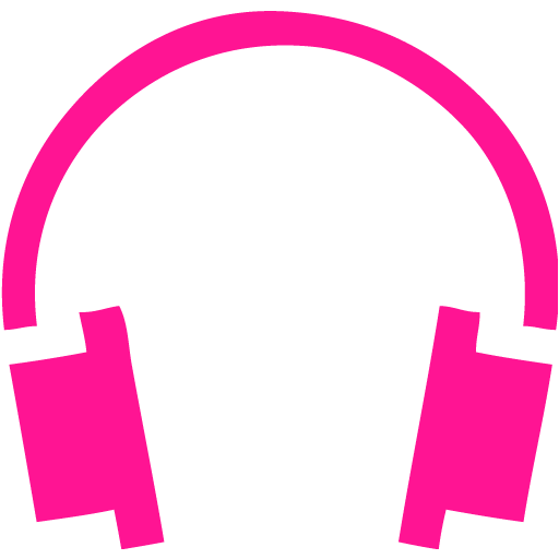 Headphone clipart pink headphone Free 8 8 headphones icon
