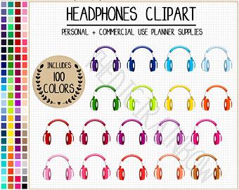 Headphone clipart podcast Headphones stickers stickers headphones podcast