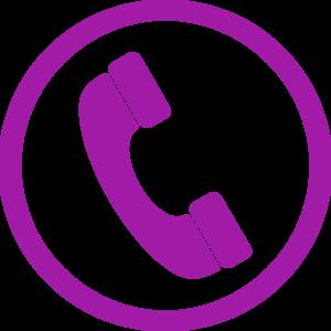 Headphone clipart purple At Phone Phone Clip Purple