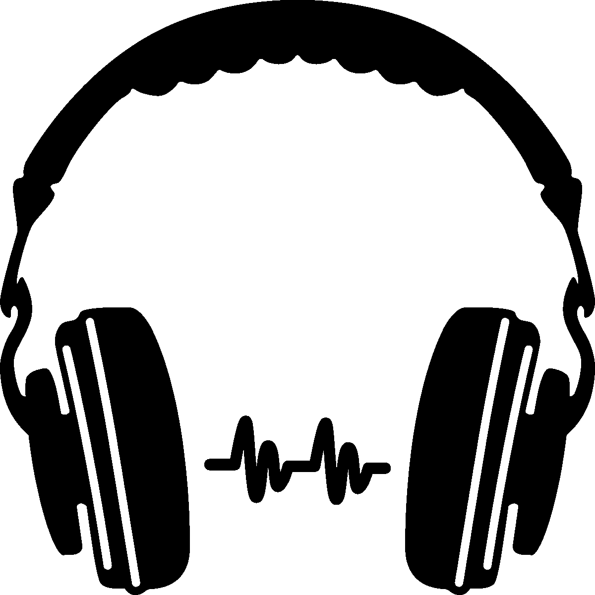 Audio clipart dj headphone #6