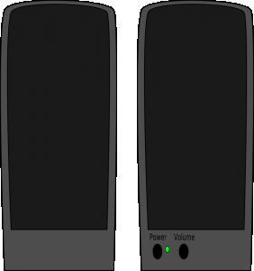 Headphone clipart speaker #9