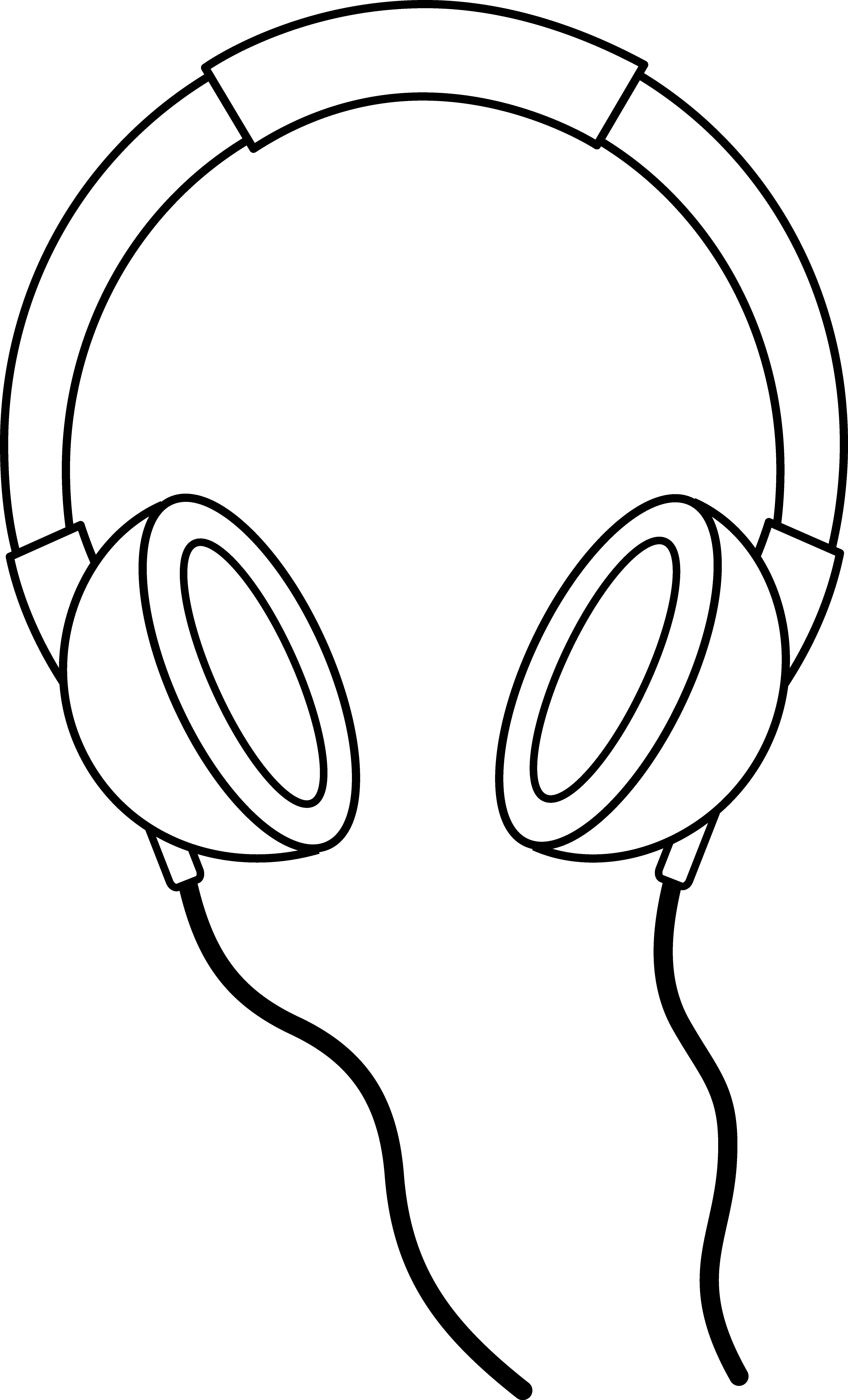 Headphone clipart speaker #5