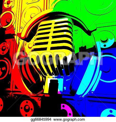 Headphone clipart speaker #11