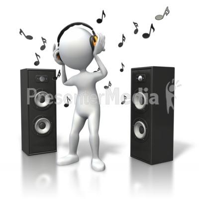Headphone clipart speaker #2
