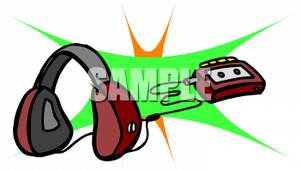 Headphone clipart tape player Headphones Headphones Picture: Portable and