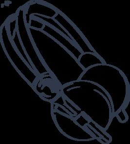 Headphone clipart turntable Clip at Art com royalty
