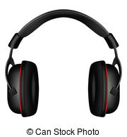 Headphone clipart vector 36 198 Headphone Illustrations Vector
