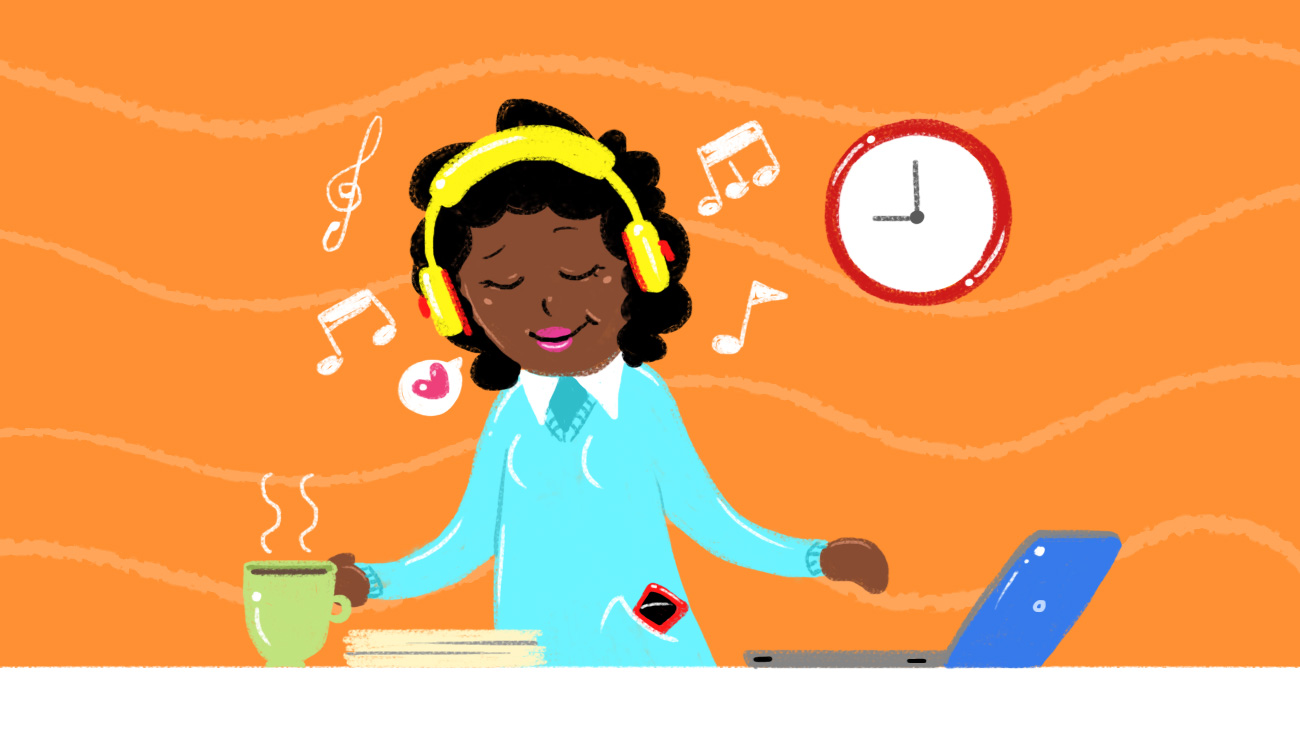 Headphone clipart work Headphones My LH: Work Wear