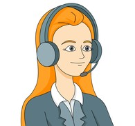 Headphone clipart large Graphics service worker answering service