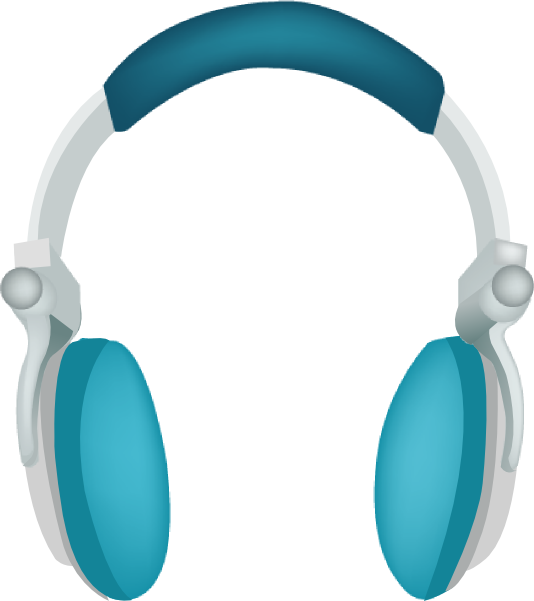 Headphone clipart large At Clker Download this Headphones