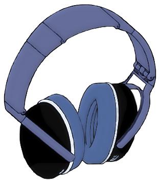 Headphones clipart Earphones Art Clip Circumaural Headphones