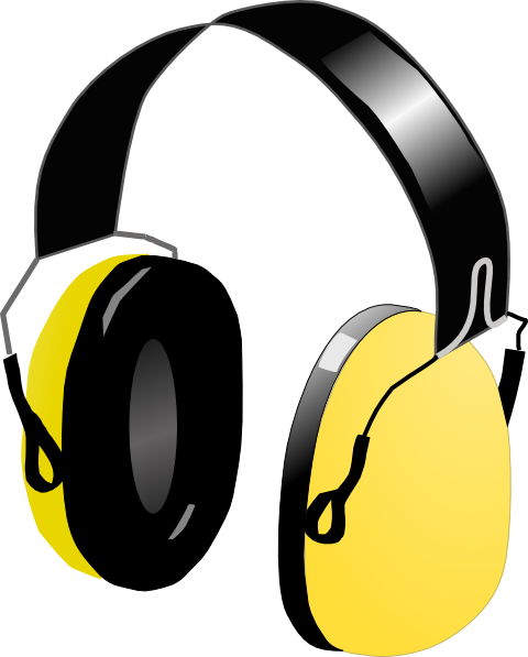 Audio clipart dj headphone #3