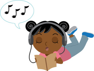 Headphones clipart animated Illustration Image Music to Teen