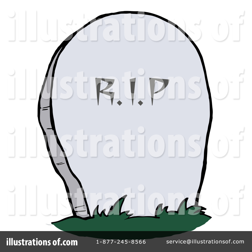 Headstone clipart Toon #226844 (RF) #226844 Illustration
