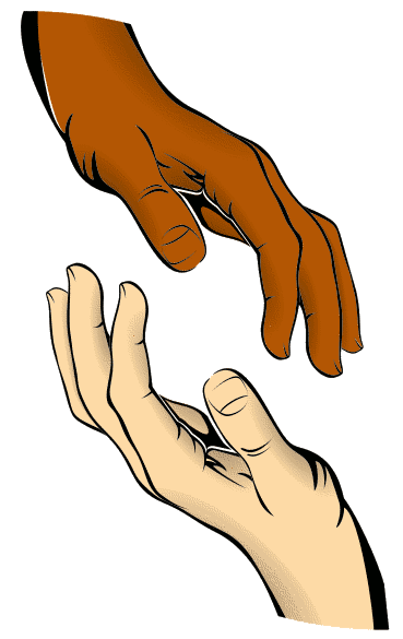 Gods clipart outstretched hand Healing Healing Religious info Clip