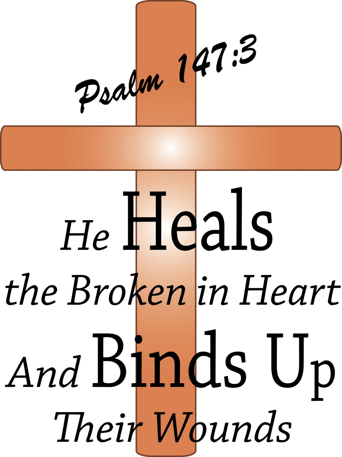Gods clipart healing With saying by ShareFaithTM Graphics