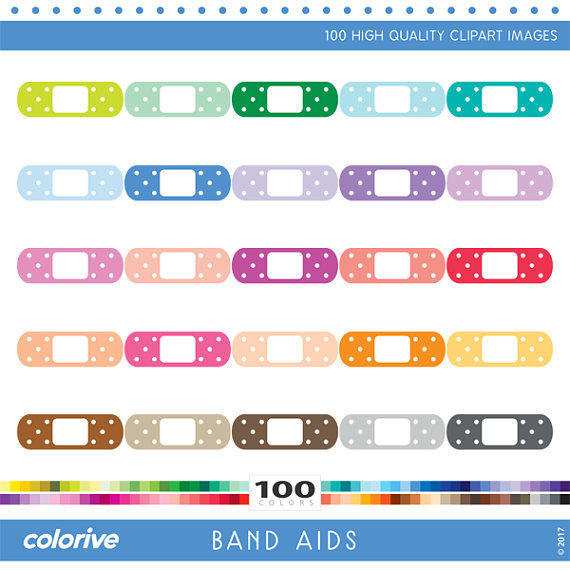 Healing clipart bandage Bandage heal rainbow planner from