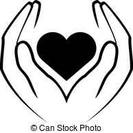 Healing clipart black and white #12
