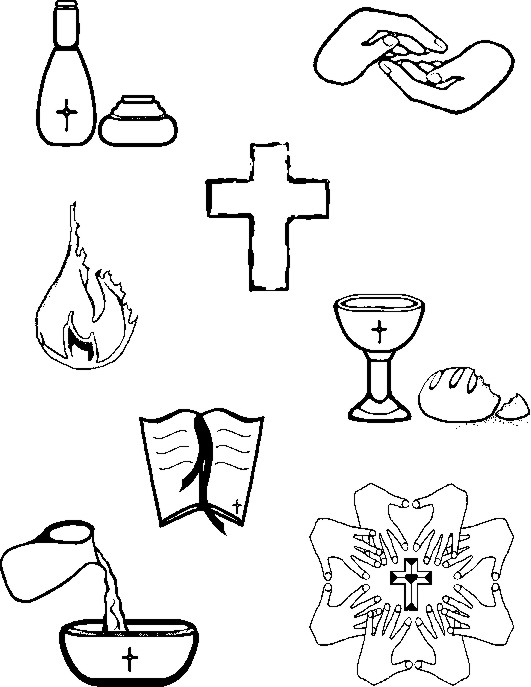 Healing clipart black and white #13