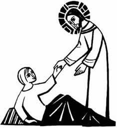 Healing clipart black and white Leper clipart ten Jesus New