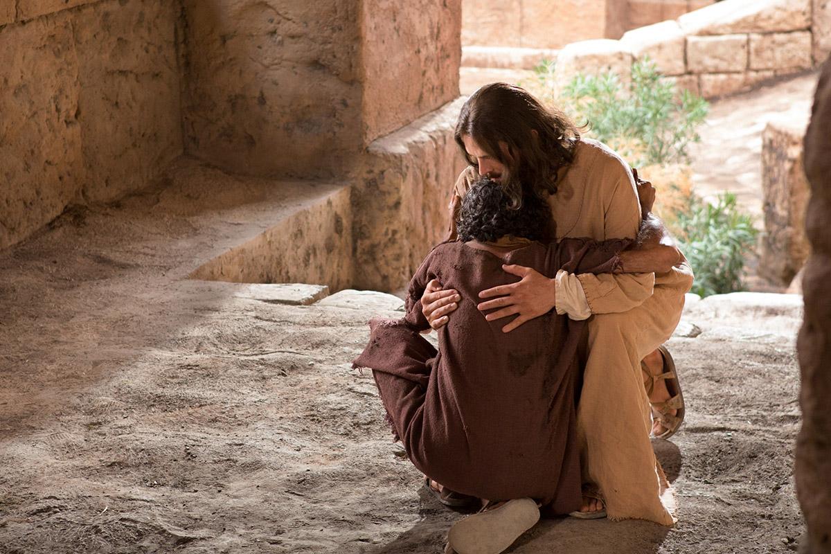 Healing clipart blind woman A Jesus  Blind Man
