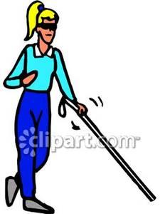 Healing clipart blind woman Clipart Walking Blind Blind Cane