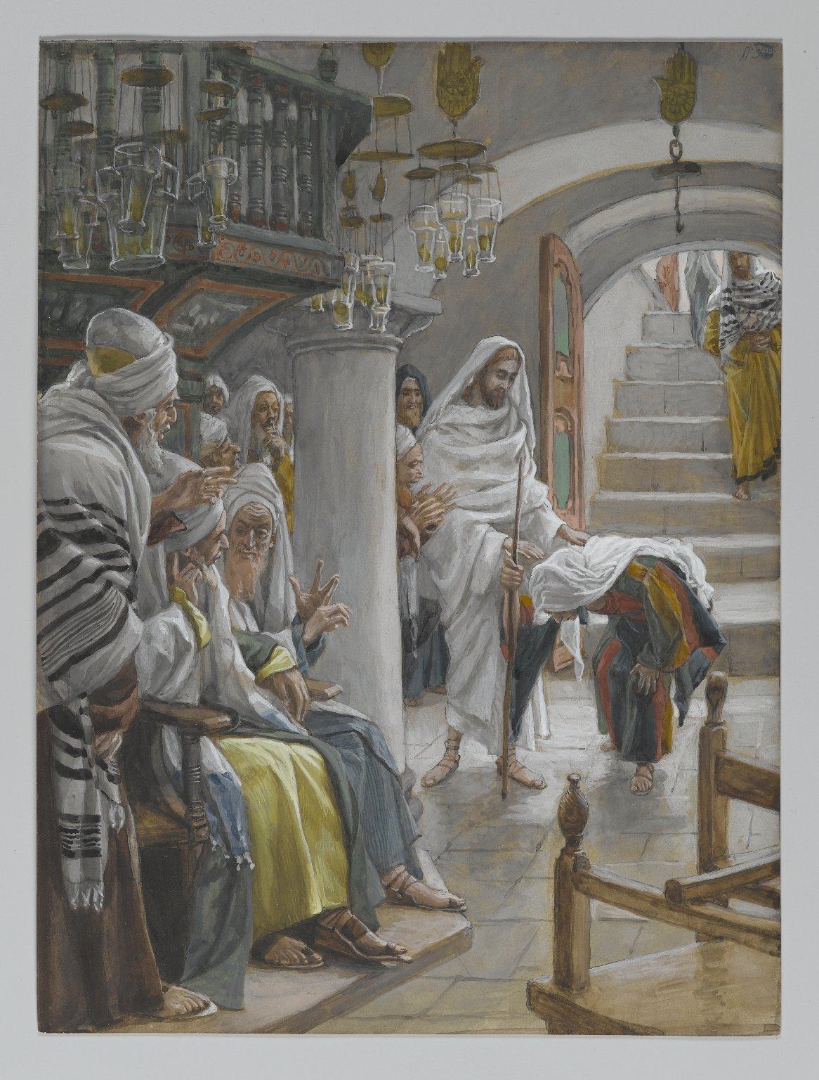 Healing clipart blind woman An Jesus Wikipedia infirm