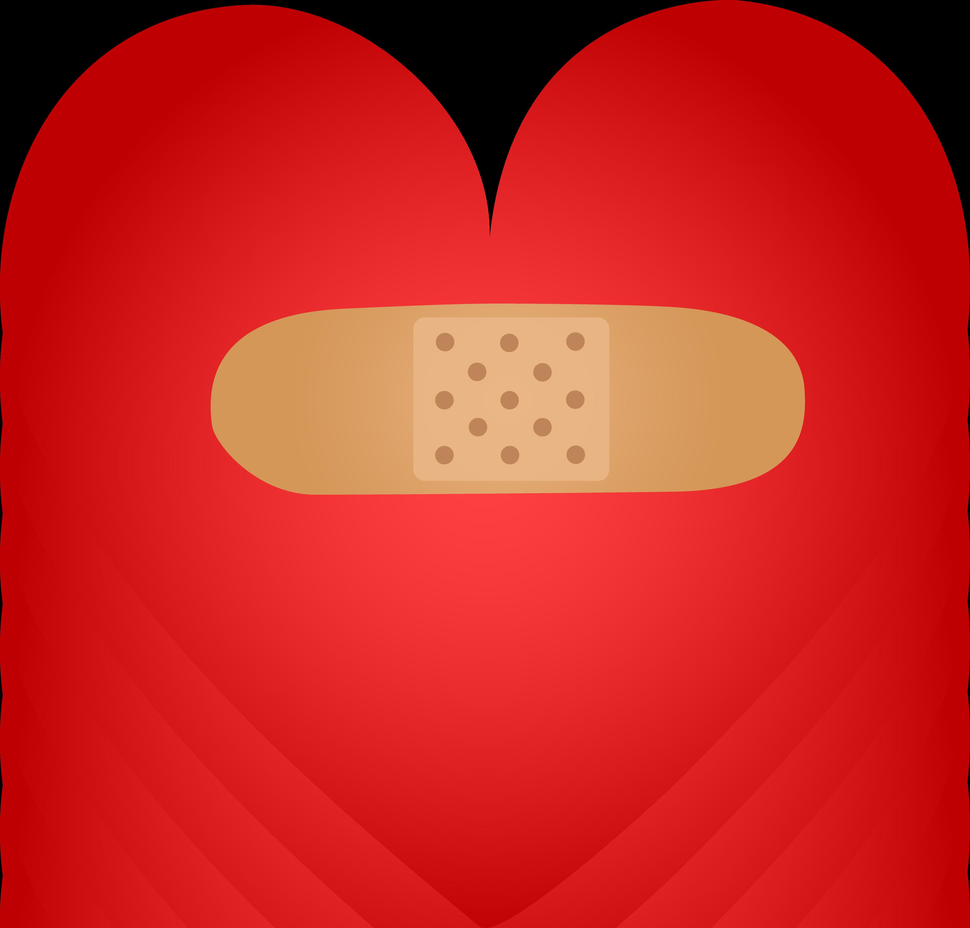 Healing clipart broken heart Aid Bandaid Heart Mended Band