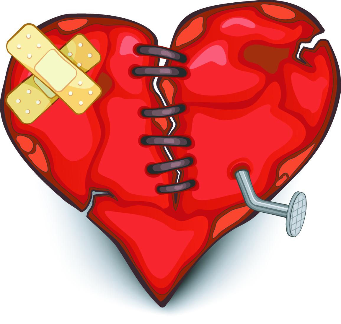 Healing clipart broken heart Broken Negative Healing  Heart?