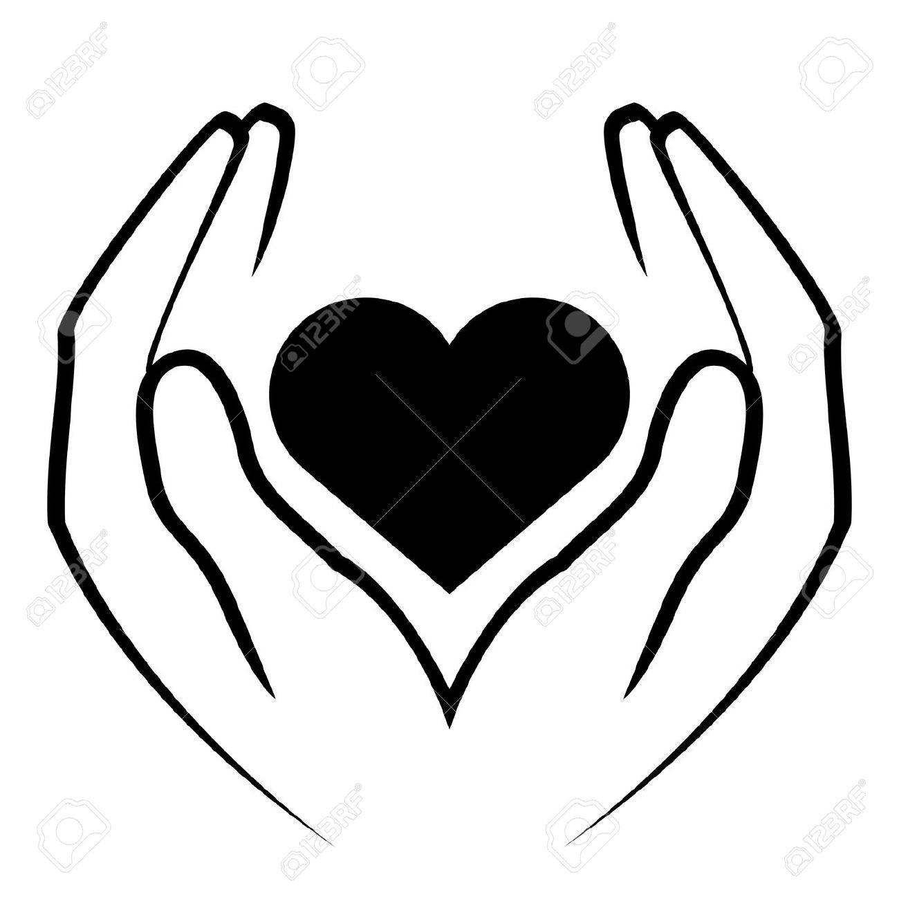 Healing clipart caring hand Things Heart Heart of Pinterest