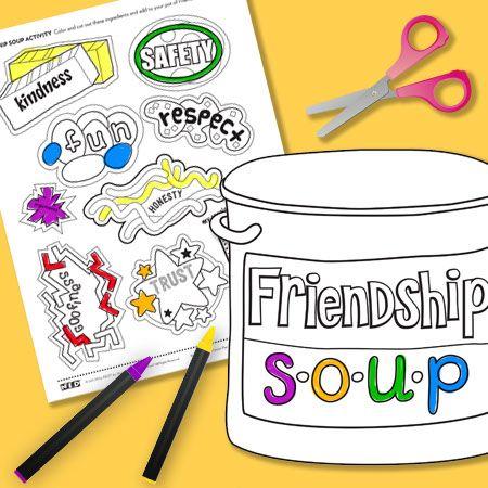 Healing clipart friendship Friendship with healing path children