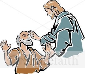 Healing clipart heals Clipart Jesus Jesus heals lepers