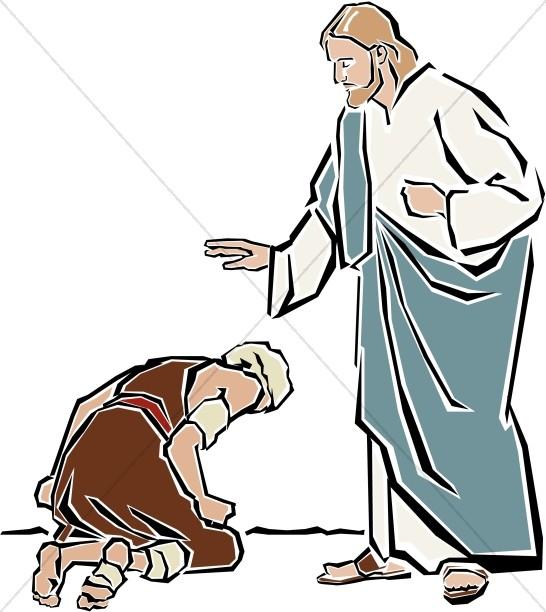 Healing clipart heals Testament the Jesus Jesus Bethsaida
