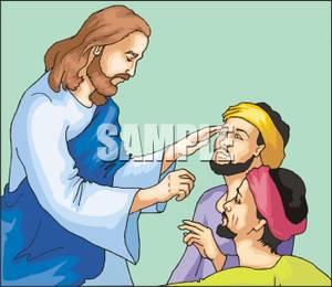 Healing clipart jesus Healing Healing Picture: Man Jesus