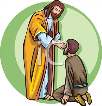 Healing clipart jesus Blind Clip jesus clipart Jesus