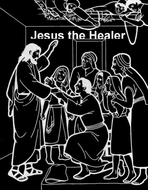 Healing clipart jesus miracle People  Jesus drawing free
