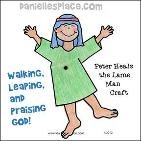 Healing clipart lame man God! John & Lame and