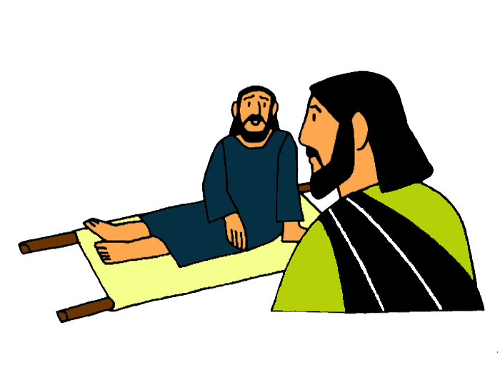 Healing clipart lame man Through Bible the  Mission