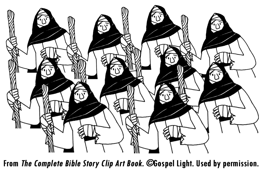 Healing clipart leper Pages heals  lepers of