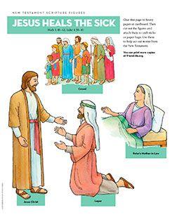 Healing clipart new testament Jesus Healing Testament Find CC