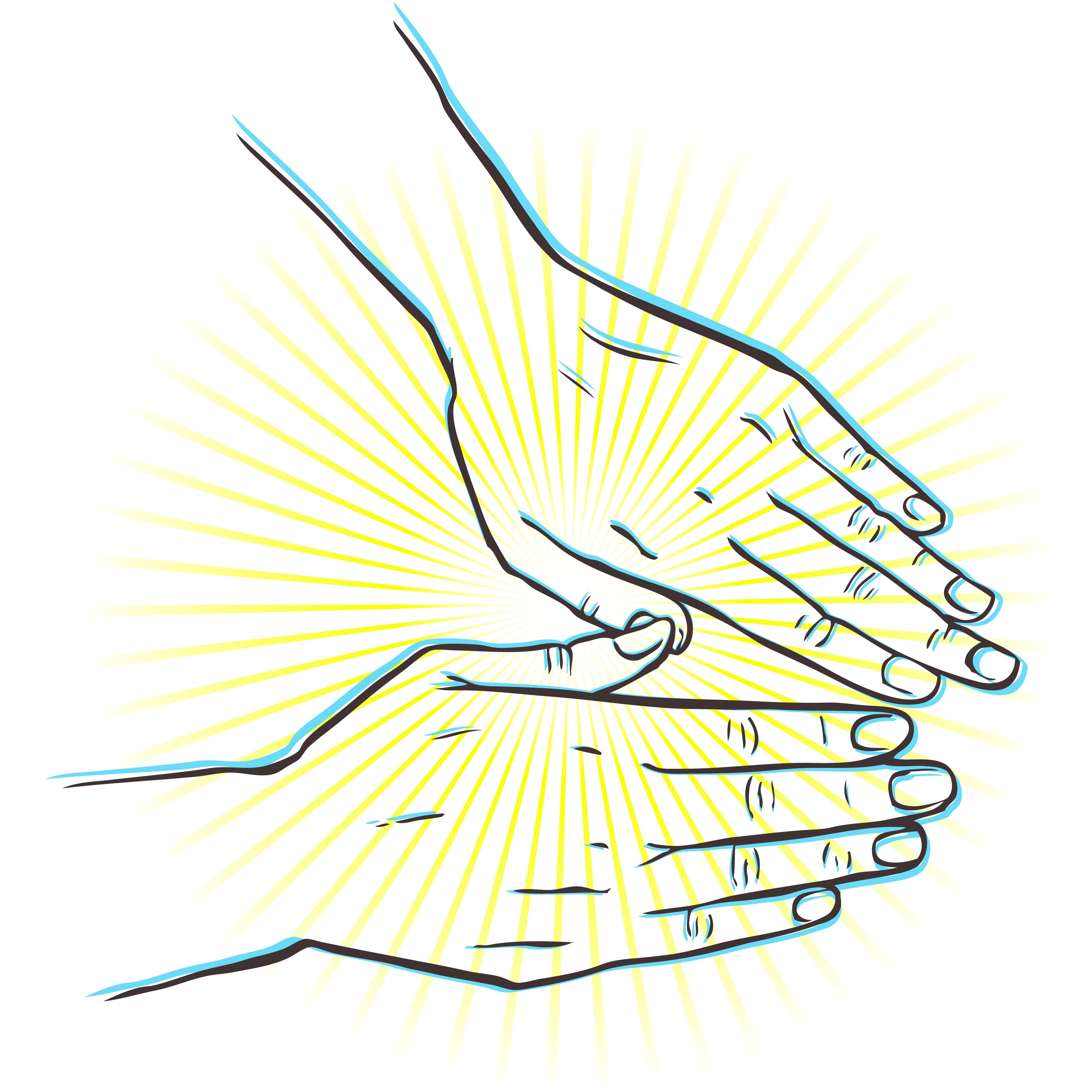 Healing clipart outstretched hand Clip Hands Hands Download Clipart