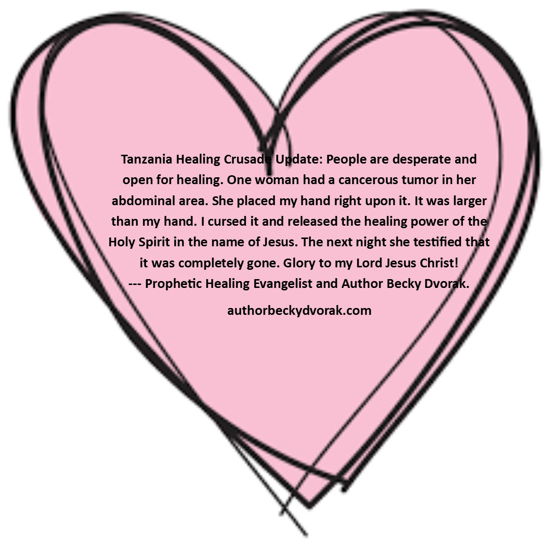 Healing clipart right hand In desperate is supernaturally woman