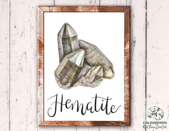 Healing clipart root Crystal of print Hematite Buy